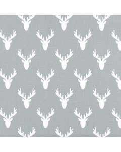 Antlers Cool Grey, Premier Prints