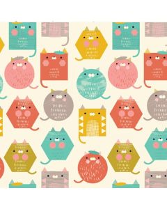 Geometric Cool for Cats Dashwood fabric