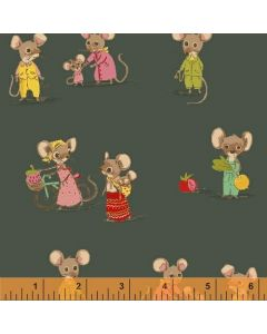 Countrymouse Citymouse Green, Heather Ross