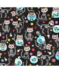 Day of the Dead Kitty 1