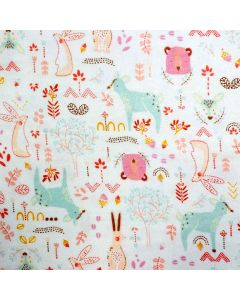 Forest Friends Flannel, Camelot