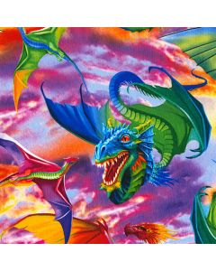 Dragons Bright, Timeless Treasures