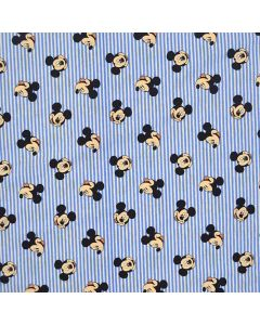 Stripes in Blue Mickey Mouse Oh Boy, Camelot