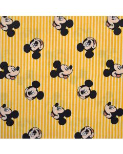 Stripes in Yellow Mickey Mouse Oh Boy, Camelot