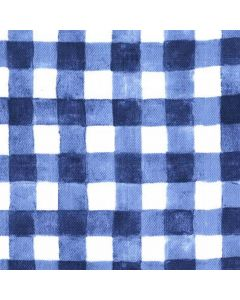 Mini Painted Gingham Navy, Michael Miller