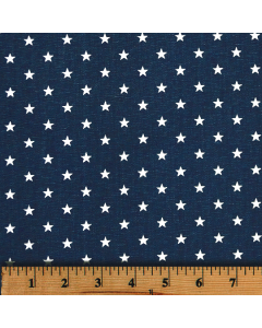 Mini Star Navy Premier Prints