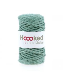 Natural Jute Serenity Mint from Hoooked
