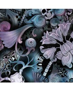 Skull Floral Butterfly Tattoo, Timeless Treasures