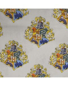 Watercolour Quidditch Blue Harry Potter Fabric