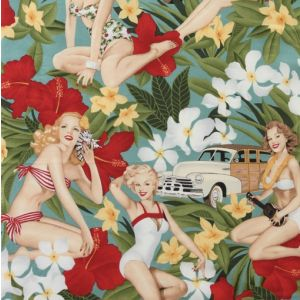 Aloha Girls Antique, Alexander Henry