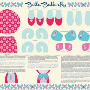 Bella Butterfly square