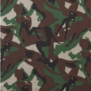 Camouflage Girls Army Green