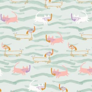 Swimming Cats and Dogs from Dashwood Under the Sea range USEA1473