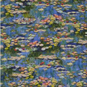 Water Lilies Claude Monet Fabric