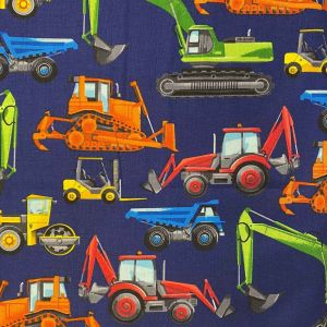 diggers navy timeless treasures C5129 fabric