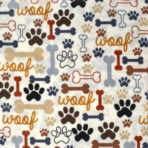Dog Bones & Paw Prints, Timeless Treasures