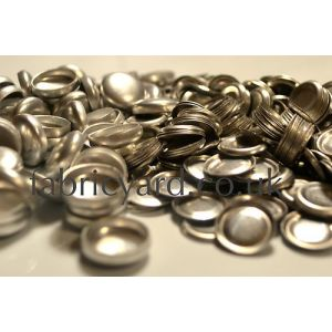 15mm Self Cover Button Metal
