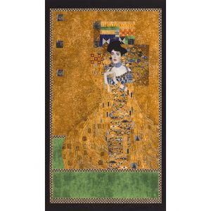 Lady of Gold Klimt 60cm Panel, Robert Kaufman