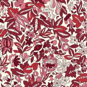 Hyde Floral Red 721c, Liberty
