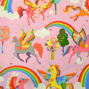 Magic Rainbow Shine in Pink, Alexander Henry