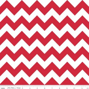 medium chevron red