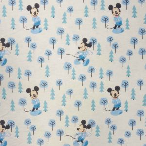 Mickey in the Meadow flannel