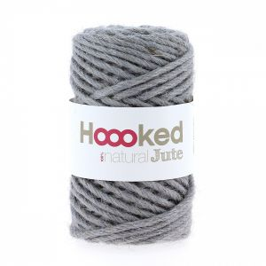 Natural Jute Grey Mist, Hoooked