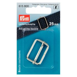 Adjusting Buckle 25mm Silver, Prym
