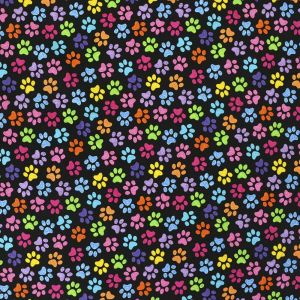 rainbow paws timeless treasures  fabric