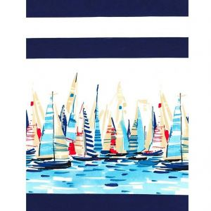 Regatta Single Border, Michael Miller