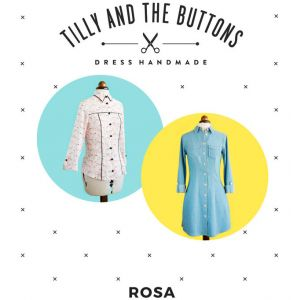 Rosa Sewing Pattern Tilly and the Buttons