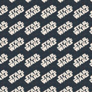 Star Wars Logo and Tiny Dots, Craft Cotton Co