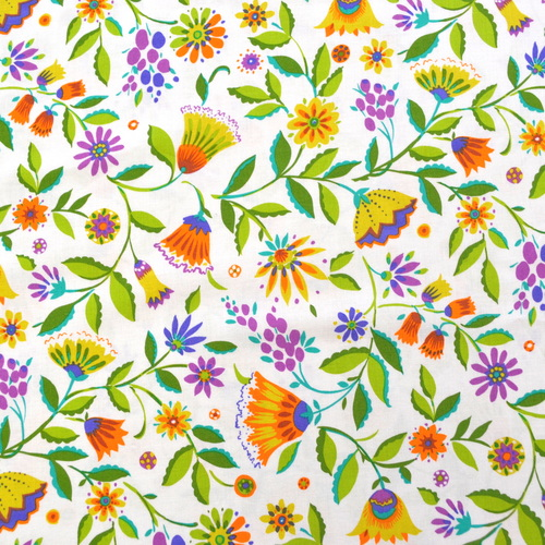 1m folk floral jewel michael miller fabric per metre flowers white 1m folk floral jewel michael miller fabric per metre flowers white mightylinksfo
