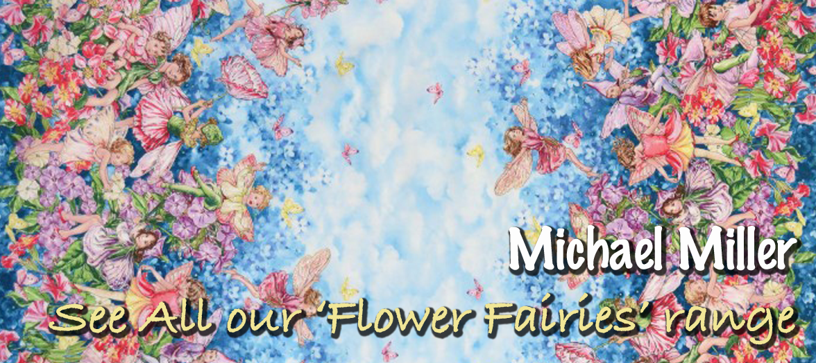 Flower Fairies from Michael Miller by Mary Cicely Barker